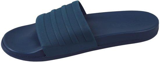 adidas Adilette Cloudfoam S80976, Mannen, Blauw, Slippers maat: 43 EU