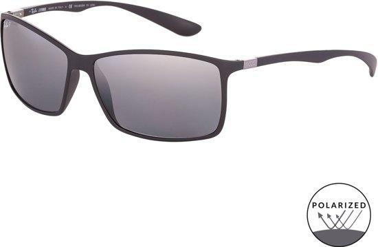 c68157f03b50f2 Ray-Ban RB4179 601S82 - Liteforce - zonnebril - Zwart   Zilver Spiegel -  Gepolariseerd