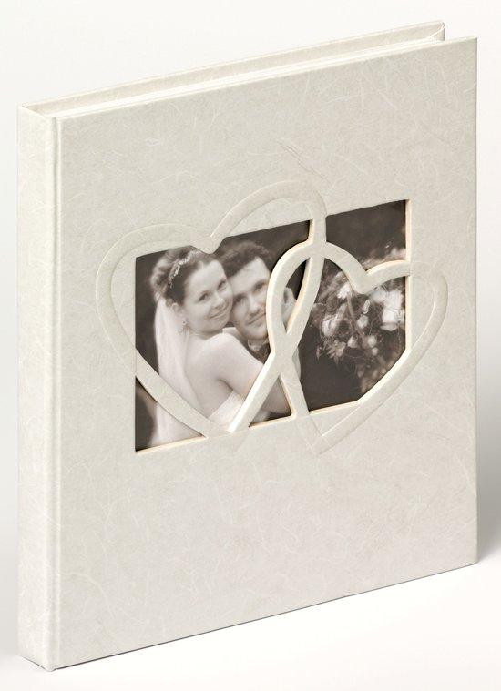 Walther Design GB-123 Sweet Heart - Gastenboek - 23 x 25 cm - Wit - 144 pagina's