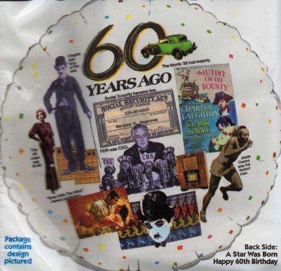 folie ballon - 60 jaar