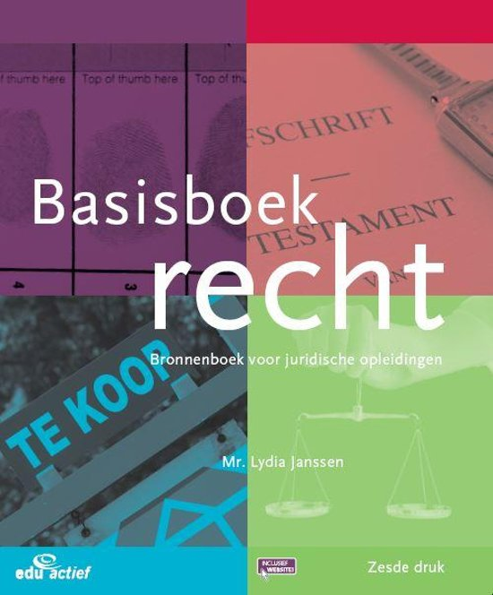 MBO Recht - Basisboek recht