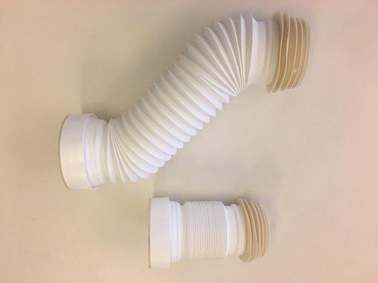 Afvoer Badkamer Diameter : Bol.com uittrekbare flexibele wc afvoer 30 57cm wit
