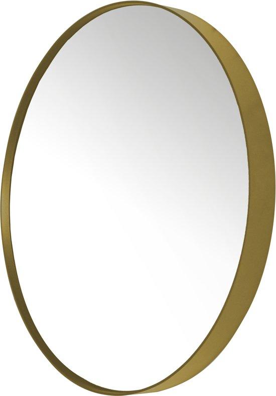 Favoriete bol.com | Spinder Design Donna 5 - Spiegel - Rond - ø 90x5 cm - Goud OL22