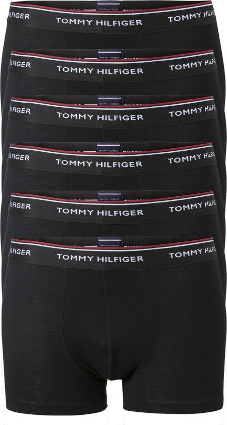 Actie 6-pack: Tommy Hilfiger boxershorts - zwart -  Maat XL