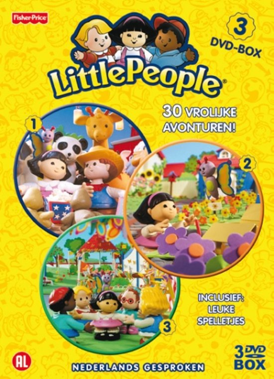 Little People  3-DVD Box