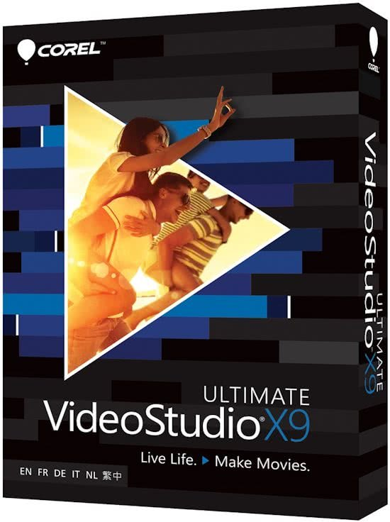Corel Video Studio X9 Ultimate - Nederlands / Frans / Engels