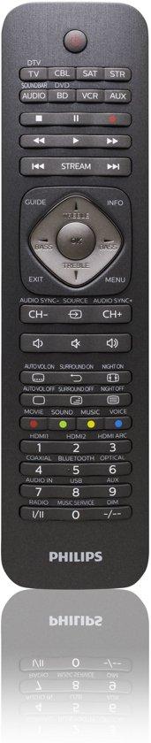 Philips SRP5018 - Universele afstandsbediening - Zwart