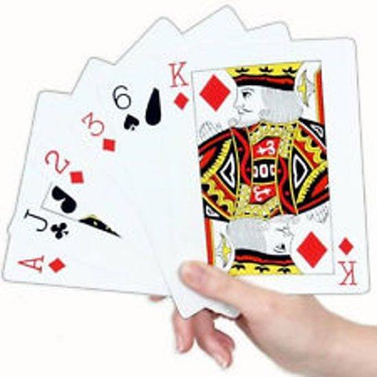 Afbeelding van het spel 54 speelkaarten set  - Groot