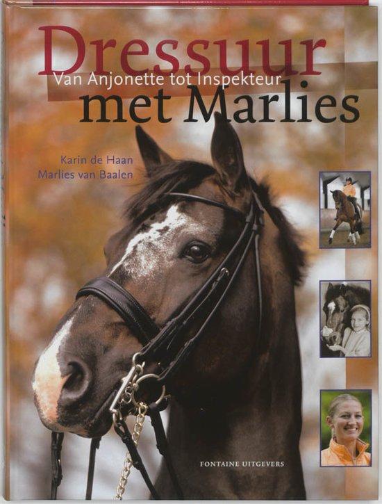 Cover van het boek 'Dressuur met Marlies'