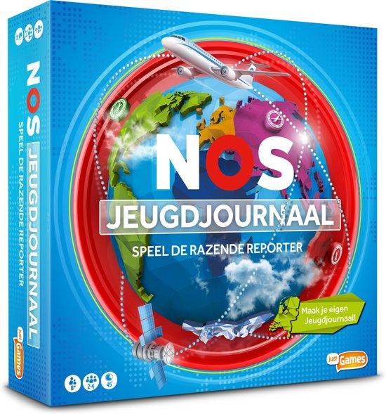 Iets Nieuws bol.com   Het NOS Jeugdjournaal bordspel, Just Games   Speelgoed #AN16