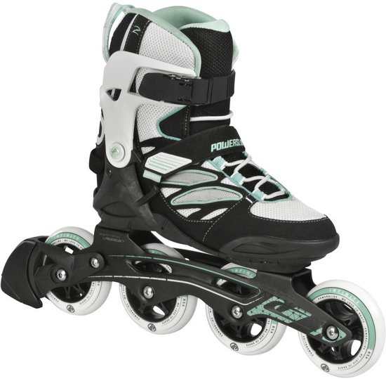 02f077b7a4f bol.com   Powerslide Inline Skates Epsilon Dames Zwart/wit Maat 41