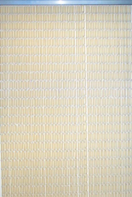 Lesli - Vliegengordijn - 90x220 cm - Beige
