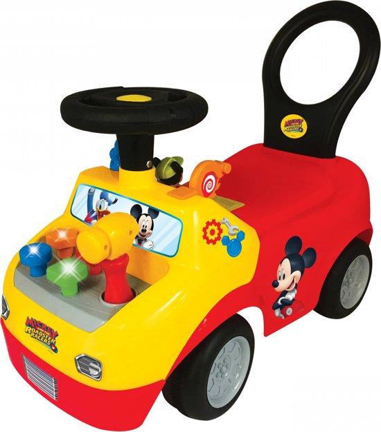 Kiddieland Loopwagen Mickey Roadster Racers Rood/geel