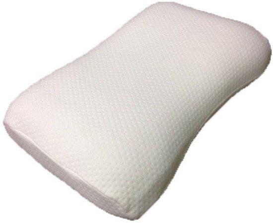 Kussen Voor Rugslaper : Bol latex hoofdkussen wave soft