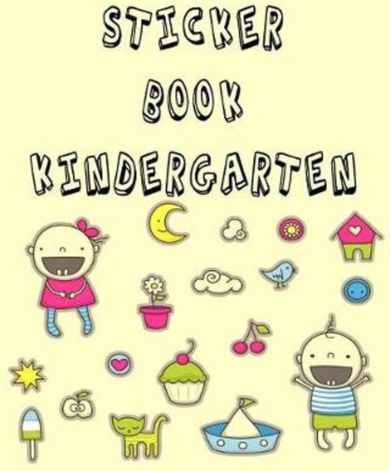 Sticker Book Kindergarten