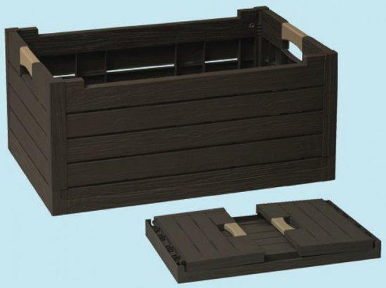 Opvouwbare vak vouwkrat, hout design Florida 59 x 39 x 28 H cm