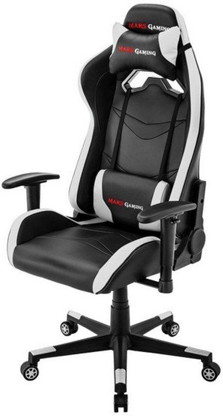 Gaming stoel Mars Gaming MGC3BW Zwart Wit