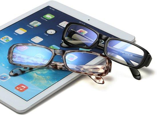 Premium Computer Bril - Anti Blauwlicht Beeldscherm Filter Bril - Zwart