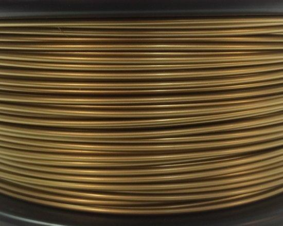 Bits2Atoms PLA filament bronze gold 1,75mm 750gram
