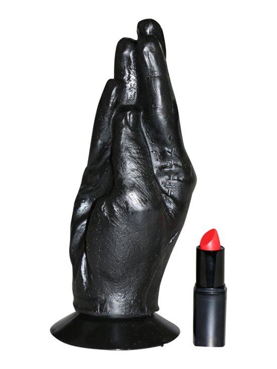 Zwarte vuistneuk Dildo