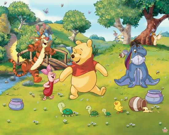 Walltastic Posterbehang Disney Winnie the Pooh - 305 x 244 cm