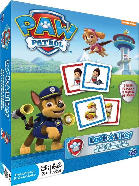 Afbeelding van het spel PAW Patrol Games Look a Likes - Kinderspel