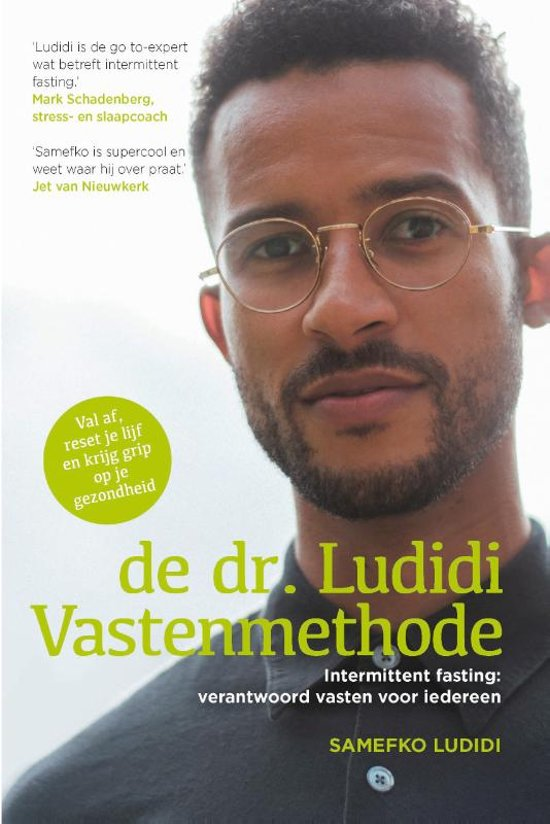 Boek cover De dr. Ludidi Vastenmethode (Intermittent fasting) van Samefko Ludidi (Paperback)