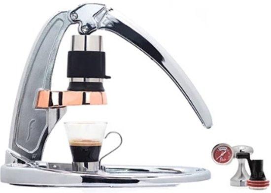 Flair Espressomaker Signature Chrome Met Manometer