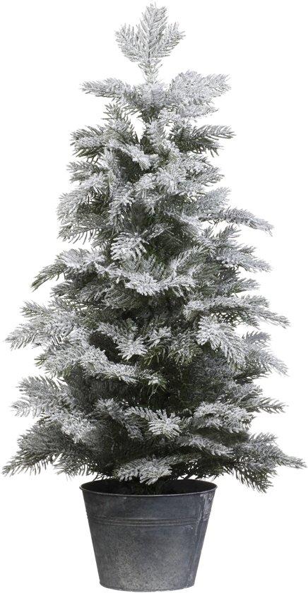 Bol Com Everlands Nordmann Snowy Mini Kerstboom 45 Cm Besneeuwd
