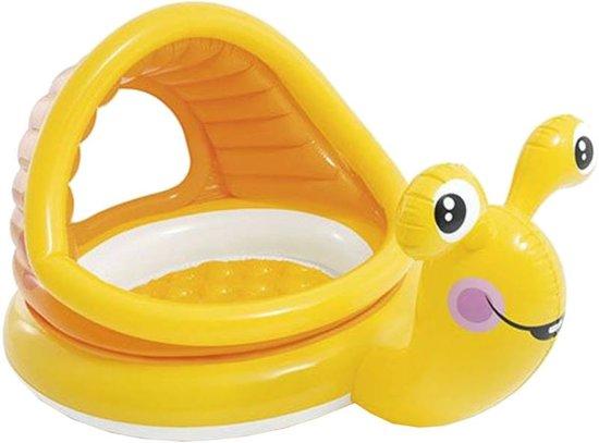 Zwembad opblaasbaar baby Intex slak: 145x102x74 cm