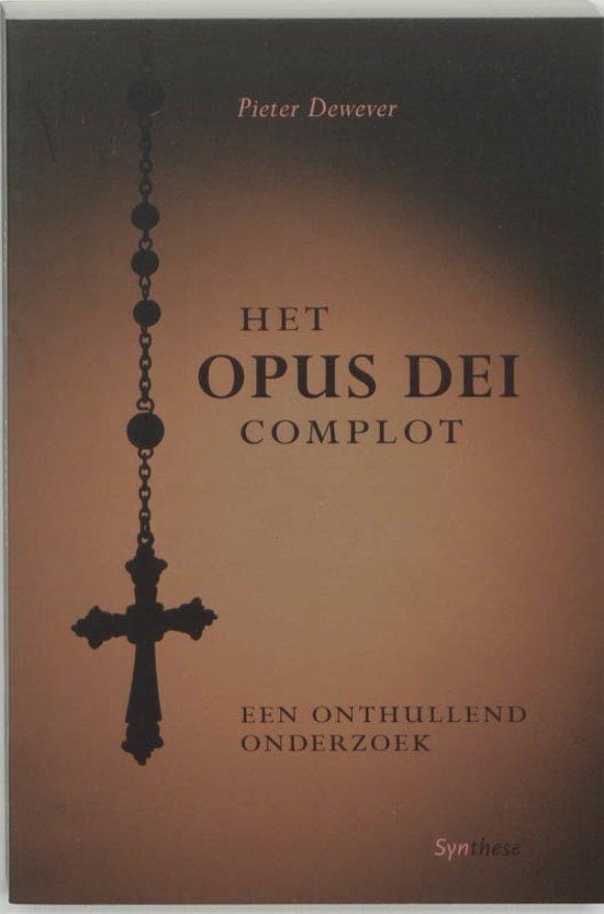Bol Het Opus Dei Complot Pieter Dewever 9789062710171 Boeken