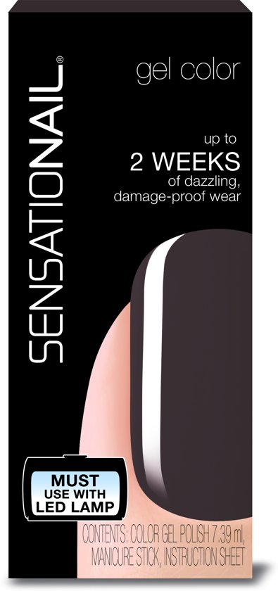 SensatioNail Gel Polish In the Shade - Gel Nagellak - Grijs