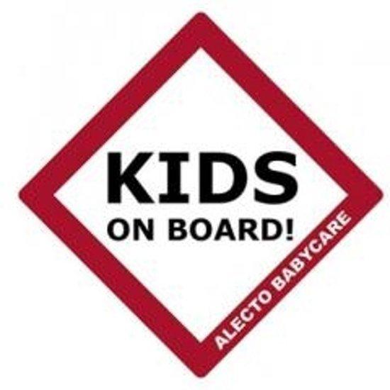 Alecto BV-16 Kids On Board Bordje - voor Auto