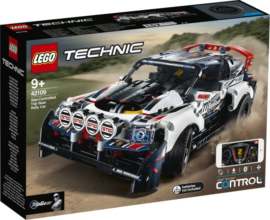 Afbeelding van LEGO Technic Top Gear Rallyauto met App-bediening - 42109