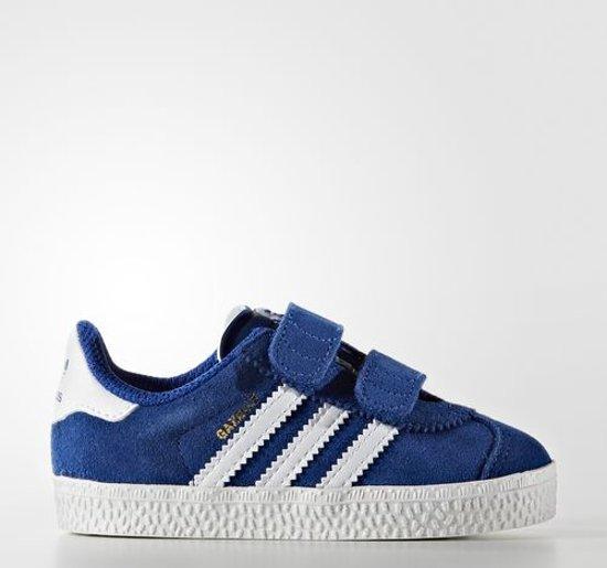 adidas gazelle wit blauw