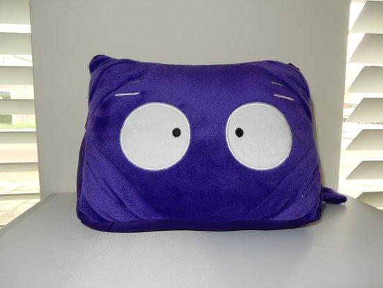 i-tabby - tablethouder & reiskussen in 1 - purple
