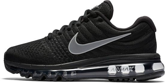 nike air max 2017 dames zwart