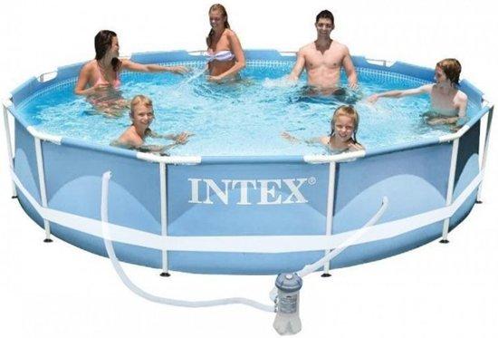 Intex Prism Frame 305 x 76 cm met pomp (met reparatiesetje)