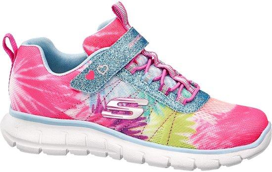 herfst schoenen stopcontact online redelijk geprijsd Skechers Kinderen Roze sneaker glitters - Maat 32