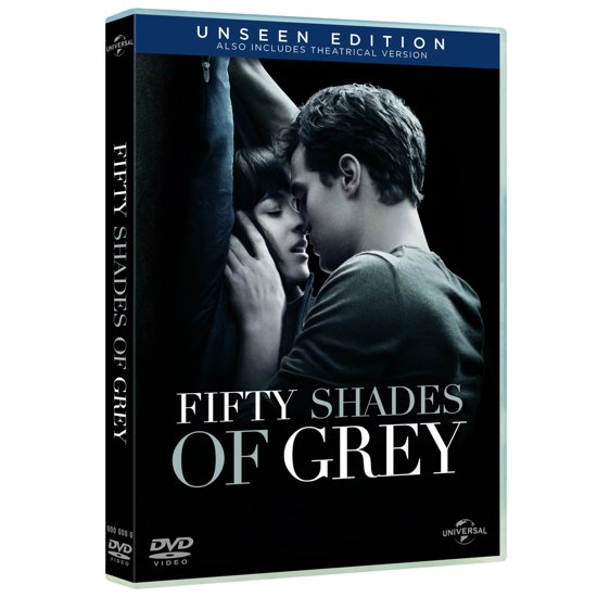 DVD cover van Fifty Shades of Grey