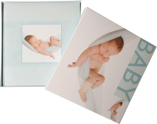 Henzo 20.020.07 Babyalbum SWEET DREAMS blauw als fotoboek met geschenkdoos