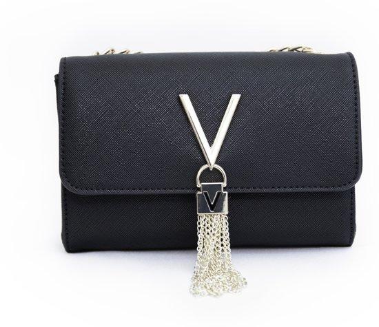 Clutch Sa Zwart Crossbodytassen Divina Handbags Valentino stQChrd