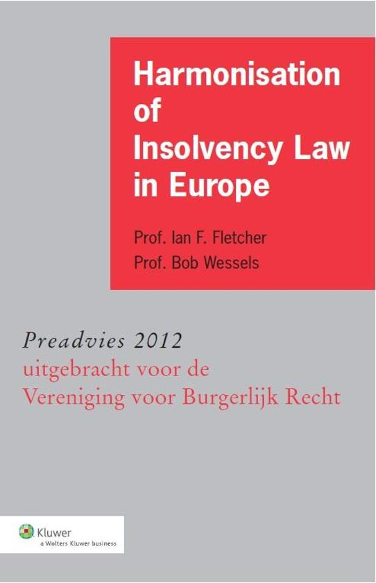 Cover van het boek 'Harmonisation of insolvency law in Europe' van Ian F. Fletcher