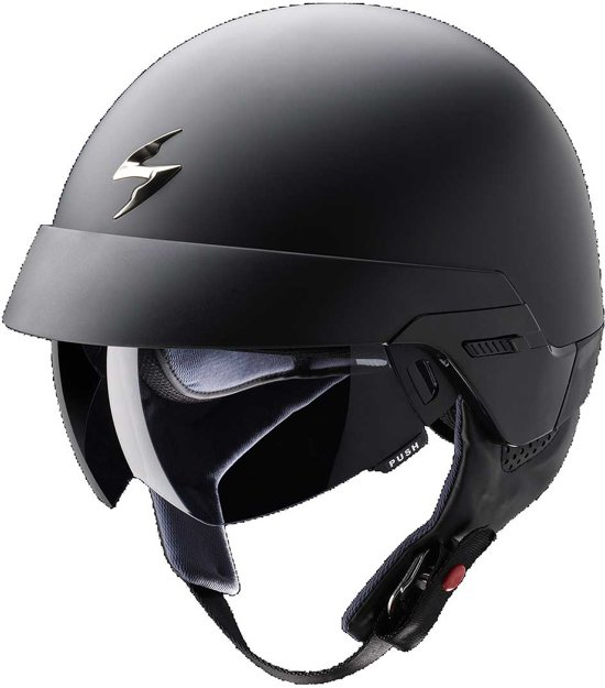 Scorpion Jethelm EXO-100 Solid Matt Black-L