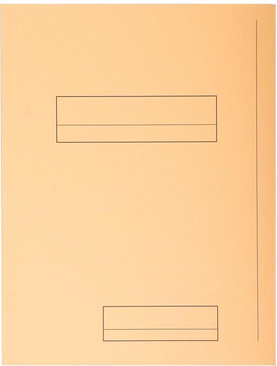 5x Exacompta dossiermap Jura 250 2 kleppen ivoor