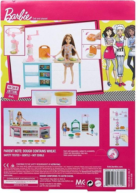 Barbie Stacie Ontbijt speelset