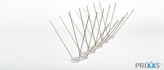 PRIXXS - Meeuwenpinnen RVS 304 (1 meter)