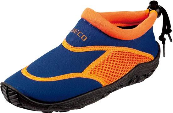 Beco Sealife - Waterschoenen - Kinderen - Blauw/Oranje - Maat 22