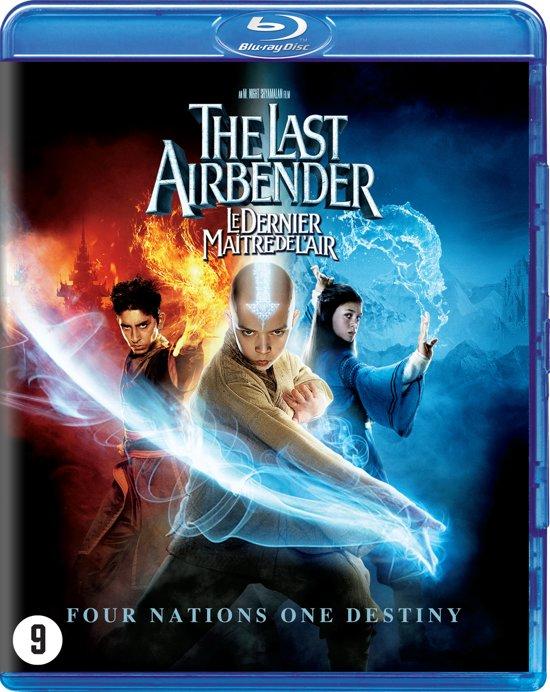 DVD cover van The Last Airbender (18) (Blu-ray)