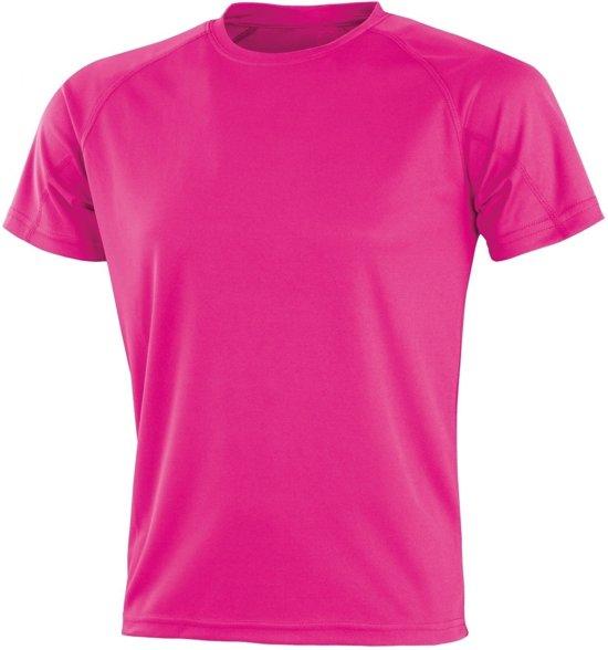 Senvi Sports - Impact Aircool Sport Shirt - Roze - S - Unisex